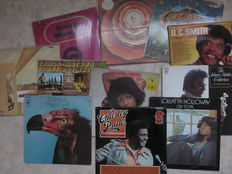 SOUL, various artists, lot of eleven (11) LP's from the sixties and early seventies