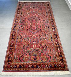 Magnificent Sarouk - 185 x 90 - special carpet - with certificate