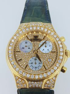TechnoMarine Lady Diva - 18 kt gold and diamonds