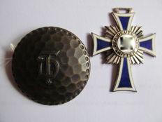 Mother Cross Silver & Brooch DT
