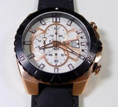 Pierre Renoir Copper Chronograph - - men's wristwatch - 2000