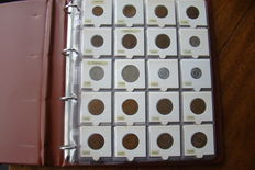 Greece, Cyprus and Malta - Collection various coins 1878/1988 (130 pieces) in  album