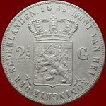 Check out our Netherlands - 2 1/2 guilder 1855 Willem III - silver