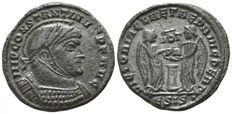 Constantinus I. the Great. AD 306-336. Siscia Æ