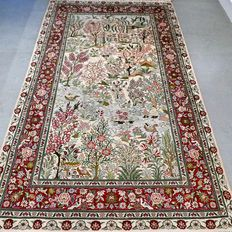 Superior silk Chinese Hereke - 153 x 90 - 1,000,000 kn/m² - collector's item