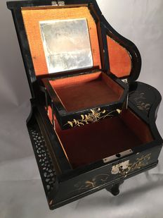 Musical box / jewel box, circa 1950
