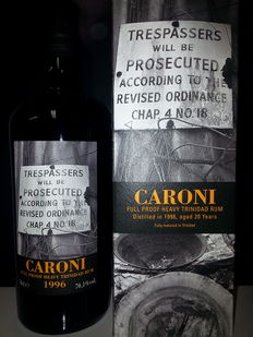 Caroni 20 years 1996 Full Proof - Velier - 70.1%