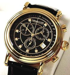 CALVANEO 1583: Chesteem Diamond Gold – Men's chronograph – New