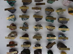A collection of minerals from Haut Katanga - 6.2kg (36)
