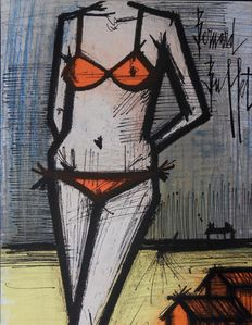 Bernard Buffet (after)  - Le bikini