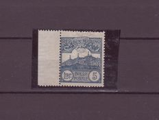 San Marino 1903 – Area views – 5 Lira – slate grey