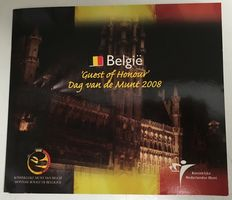 "The Nehterlands/Belgium - year collection 2008 ""Day of the Coin Set Belgium"""