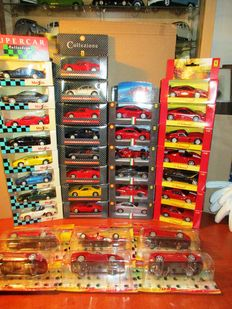 Maisto / Hotwheels - Scale 1/36-1/38 - Lot with 35 models