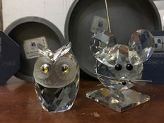 Swarovski - Owl - Large mouse