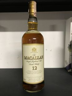 Macallan 12 years old - 1 liter for Duty Free