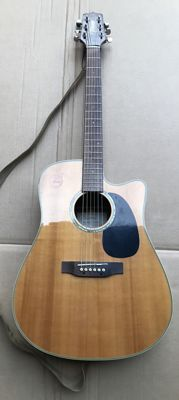 Takamine Eg530ssc acoustic electrified guitar - first decade of the 2000s