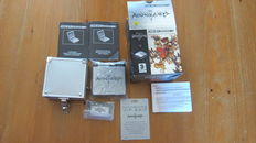 Nintendo Game Boy Advance SP console - limited edition Kingdom Hearts pack - complete in box with manual, game, etc - with protection case