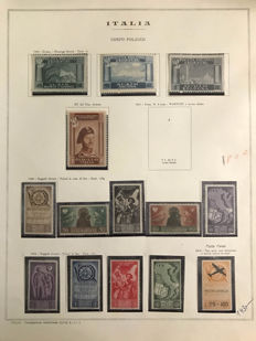 Italy – Polish Corps 1946 and Italian Occupation of Albania 1939/1943 – Small collection