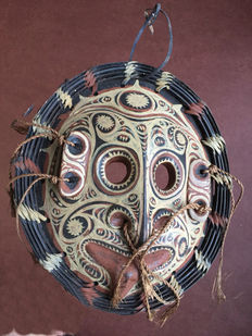 Ancestor mask - Lower Sepik - Papua New-Guinea