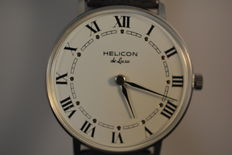 Helicon de Luxe - vintage men,s watch from 1970,s in near mint condition