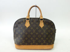 Louis Vuitton – Monogram Brown Leather Alma PM Handbag