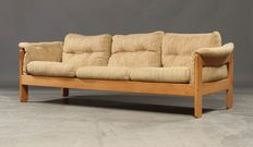 N. Eilersen – three-seater, vintage sofa.
