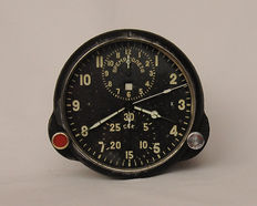 Aviation watches ACHS- 1M pilot for the fighter MiG (СССР/USSR). At the end of the 20th century.