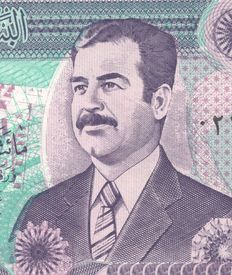 Iraq - 100 x 250 Dinars 1992 - SADDAM HUSSEIN - In bundle of 100 notes - Pick 85