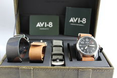 AVI-8 Flyboy Gift Set – men's watch – never worn