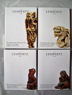 Lempertz Auction Cologne, The Kolodotschko Collection of Netsuke I-IV (complete with results), 2014-2015