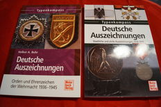 German decorations: Public and civil awards 1919-1945 (Typenkompass) + German medals: Wehrmacht Awards and Decorations 1936-1945