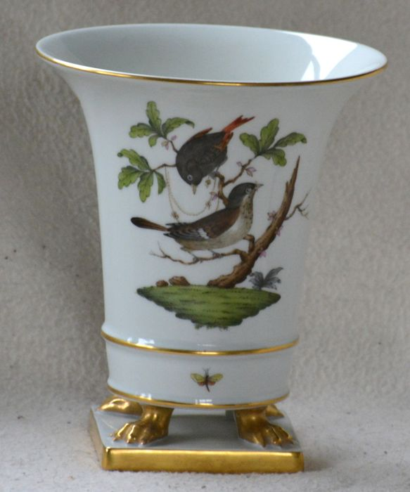 Herend Vase On Claw Feet Catawiki