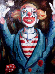 Henry Maurice d'Anty - Clown