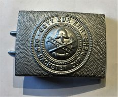 "3rd  Reich, 2nd World War ""Fire Brigade Buckles"""
