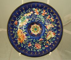 Canton enamel cupstand - China - 19th century