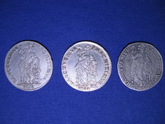 Gelderland and West Friesland - Generaliteitsgulden 1763, 1764 to 1765 - silver