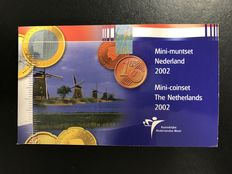 The Netherlands – Mini coin set 2002 with mini Euro coins