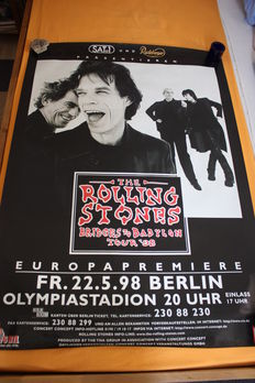 Rolling Stones - collection of tourplakats and posters.