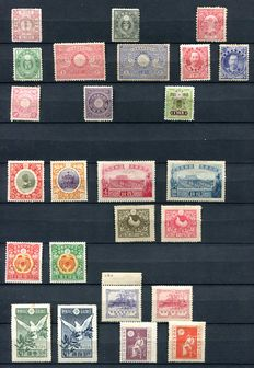 Japan 1872/1964 - Collection on stock cards