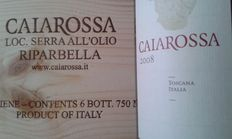 2008 Rosso di Toscana, Caiarossa - 6 bottles in original wooden case