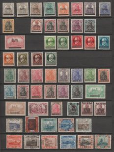 Sarre 1920/1959 – advanced stamp collection