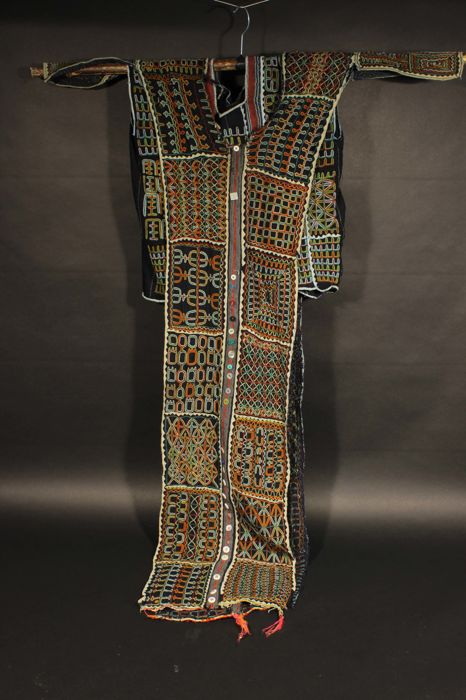Embroidered two-piece men's dress  WOODABE - Niger