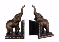 2 Elephant bookends