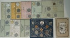 Republic of Italy - Divisional series, 1969/1991 (9 series and 1 blister) (including silver).