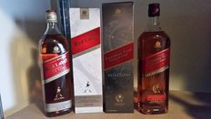 2 bottles - Johnnie Walker Red Export Blend & Johnnie Walker Adventurer