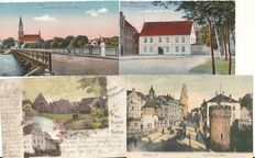 Germany / Europe / World - 1899/1998 - 1000 pieces - picture postcards