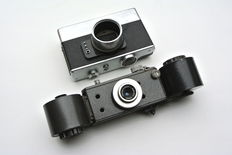 Two very rare special purpose cameras from USSR - FKM-1 and S-64