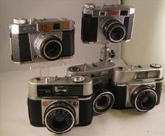 Five cameras from the early 60s