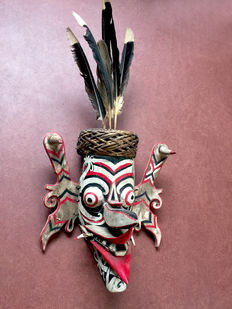 Hudoq mask - Dayak - Kalimantan - Indonesia