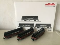 Märklin H0 - 46921 - Three-part set Mannesmann tube transport